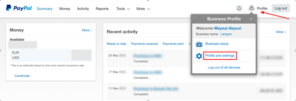 paypal-live-1-settings